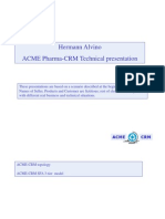 Methodology for CRM Technical Pre-Presales Presentation
