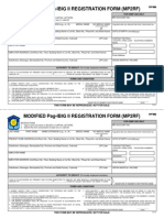 MP2 Registration Form