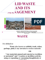 Solid Waste Management 2858710