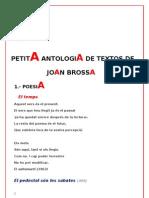 Textos Joan Brossa