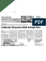 Collectie Zeeuwse Bieb Krimpt Fors