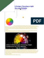 Colors in Web Design Colors Web Design Right Combination