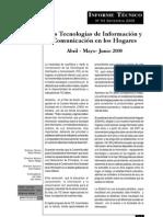 Tecnologías de información y comunicación en hogares del Perú
