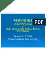 Responsible Mass Media