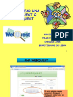 Tutorial Php Web Quest
