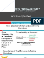 Computing for Elasticity