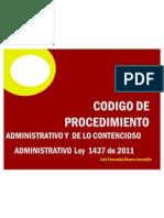 Alcance de La Ley 1437 Dr Luis Fernando Alvarez