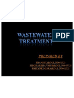 Waste Water Treatment SEMINAR