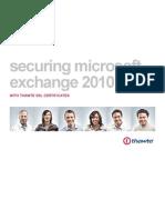 Securing Microsoft Exchange 2010
