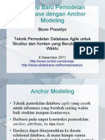 Konsep Baru Pemodelan Database dengan Anchor Modeling