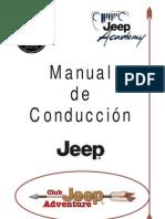 Manual de Conduccion Jeep
