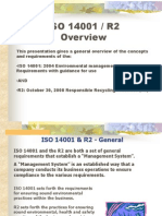 ISO14001 R2 Overview