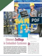 Fujitsu - Ethernet Zwillinge in Embedded Systemen