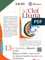 Presentació CLOT DE LA LLUNA Ontinyent