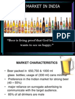 Beer Market in India Final