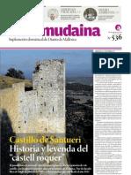 El castillo de Santueri, Felanitx, Mallorca