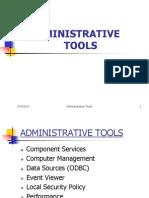 Administrative Tools