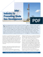 Why the Water Industry is Promoting Shale Gas Development