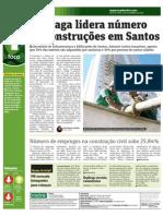 Mercado imobiliário em Santos - Jornal Metro