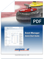 Online Registration Quick Start Guide - Curling Bonspiels