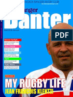 Banger Banter Newsletter 3rd Quarter 2011