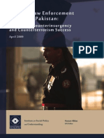 Police Reforms in Pakistan