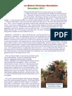 Jesus Loves Malawi Christmas Newsletter 2011