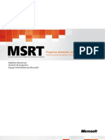 MSRT - Progress Made Lessons Learned (PTB)