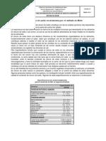 Determinación de cloruro de sodio en alimentos por el método de Mohr