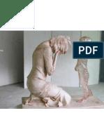 escultura niño no nacido