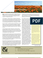 Spring 2009 Conservation Quarterly - Yolo County Resource Conservation District
