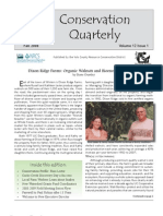 Fall 2008 Conservation Quarterly - Yolo County Resource Conservation District