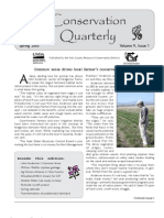 Spring 2005 Conservation Quarterly - Yolo County Resource Conservation District