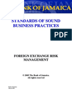 Standards-Foreign Exchange Risk Management