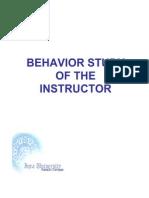 Behavior Study