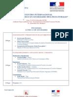 Programa Encuentro Internacional 02DIC