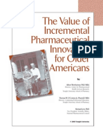 The Value of Incremental Pharmaceutical Innovation for Older Americans