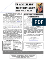 Veterans & Military Families Monthly News-December 2011