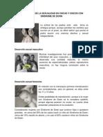 DESARROLLO DE LA SEXUALIDAD EN CHICAS Y CHICOS CON SÍNDROME DE DOWN