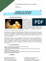Guía litúrgica para el III. Domingo de Adviento (B)