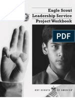 BSA Leadership Service Project Workbook