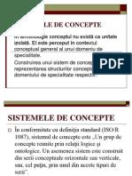 Sistemele de Concepte.curs6