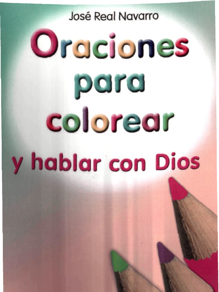 Oraciones INFANTILES Para Colorear