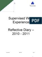 Supervised Work Experience 23.05.11