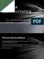 PINTURA ELECTROSTATICA