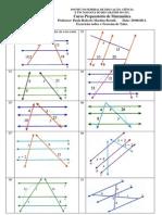Mat UTFRS 17. Teorema de Tales Exercicios