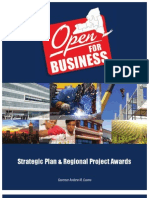 New York's Strategic Plan and Regional Project Awards
