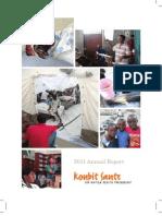 Konbit Sante- Annual Report- 2011
