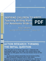 NEATE - Fall 2008 Conference -  Inspiring Children to Write