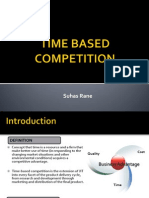 Time Based Competition